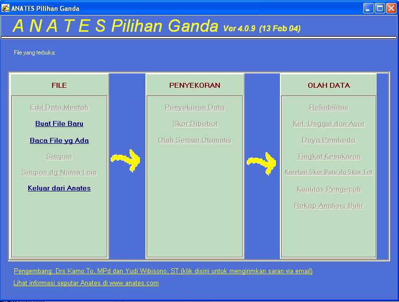 Jpeg ANATES Program Analisis Soal Tes Pilihan Ganda Dan Uraian