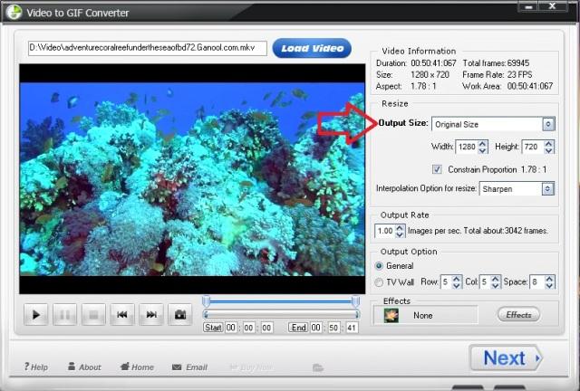Tutorial Membuat Background Gif Animasi Dari Filmvideo Menggunakan Software Wonderfox Video To